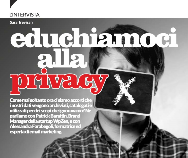 Educhiamoci alla privacy